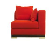 - Corner upholstered wool armchair FIESOLE | Corner armchair - Formitalia Group