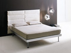 - Fabric double bed with upholstered headboard FILIPPO | Double bed - EmmeBi