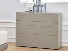 - Free standing lacquered chest of drawers F5KL85 | Lacquered chest of drawers - Caccaro