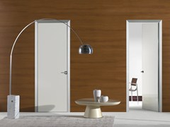 - Flush-fitting lacquered glass door FILO A FILO - POLISHED GLASS - PORTEK by LEGNOFORM