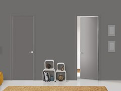- Hinged flush-fitting door FILO A FILO - FOR DECOR - PORTEK by LEGNOFORM