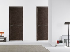 - Flush-fitting wooden door FILO A FILO - WOOD - PORTEK by LEGNOFORM