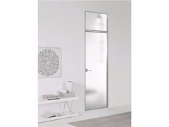 - Hinged door without frame FILO ZERO - SATIN GLASS - PORTEK by LEGNOFORM