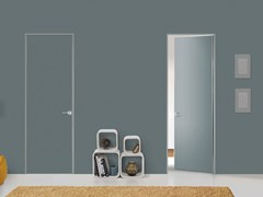 - Hinged flush-fitting door FILO ZERO - FOR DECOR - PORTEK by LEGNOFORM