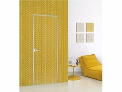 - Hinged lacquered door FILO ZERO - FOR DECOR - PORTEK by LEGNOFORM