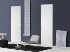 - Hinged flush-fitting door FILO ZERO - LACQUERED - PORTEK by LEGNOFORM