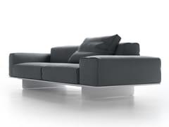 - Sectional 2 seater fabric sofa FIN | Sofa - MDF Italia