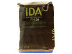 Malta rasante di finitura ad elevata traspirabilitàFINISH - IDA