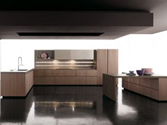 - Fitted kitchen without handles GLASS | Fitted kitchen - Zampieri Cucine