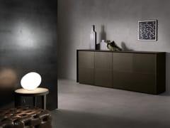 - Sideboard with doors FLAIR | Wood veneer sideboard - Pacini & Cappellini