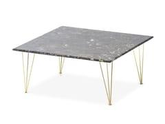 - Square marble coffee table FLAMINGO | Square coffee table - Felis