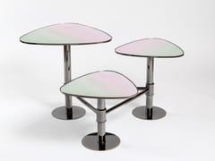 Tavolino di servizioFLANK | Tavolino in vetro - KONTRA