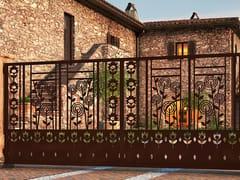 - Swing Motorized iron gate FLOREALE 908 - Fabbridea