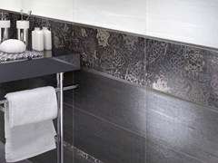 - Double-fired ceramic wall tiles FLOREALE - CERAMICHE BRENNERO