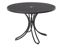 - Round steel garden table FLORENCE | Round table - EMU Group S.p.A.