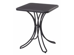 - Square steel garden table FLORENCE | Square table - EMU Group