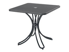 - Tavolo da giardino quadrato in acciaio FLORENCE | Tavolo quadrato - EMU Group S.p.A.