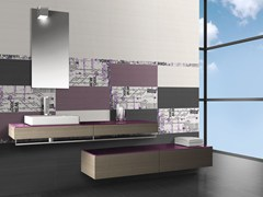 - Indoor white-paste wall tiles FLOU CITY - CERAMICHE BRENNERO