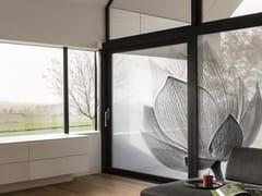 Tessuto autoadesivo trasparente per la copertura di finestreFLOWER - ACTE DECO