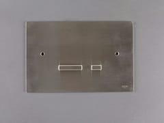 Placca di comando per wc in acciaio inox4200151/2 | Placca di comando per wc - RIFRA