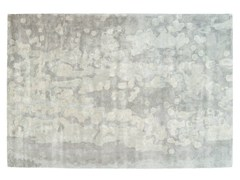 - Patterned rectangular silk rug FOGGY CALIFORNIA - Toulemonde Bochart