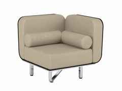 - Corner fabric garden armchair FOLD | Corner armchair - ROYAL BOTANIA
