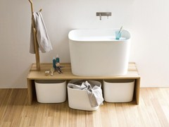 - Elm bench for bathroom FONTE | Bench for bathroom - Rexa Design