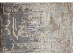 - Handmade rectangular custom rug FONTENAY NEW AGE SHADOW - EDITION BOUGAINVILLE