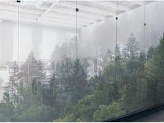 Tessuto autoadesivo trasparente per la copertura di finestreFOREST MIST - ACTE DECO