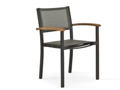 - Sedia da giardino in alluminio con braccioli FORUM | Sedia - FISCHER MÖBEL