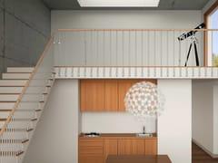 Parapetto in acciaio e legno per scaleFOX | Parapetto - MOBIROLO