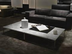 - Sled base low square coffee table FRAME | Marble coffee table - Giulio Marelli Italia