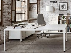 - Rectangular executive desk FRAME + EXECUTIVE | Rectangular office desk - Sinetica Industries