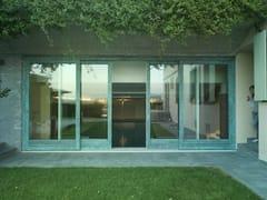 Porta-finestra alzante scorrevole in legno-bronzoALU 90 BRONZE | Porta-finestra - CARMINATI SERRAMENTI