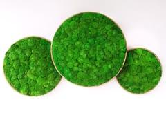 Quadro vegetale in piante stabilizzateG-CIRCLES   Quadro vegetale - GREEN MOOD - MUR VÉGÉTAL
