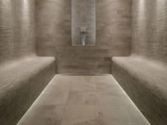 - Outdoor wall/floor tiles with stone effect GEO IVOIRE - NOVOCERAM