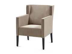 - Fabric wingchair with armrests GALA SEAT - Z-Editions