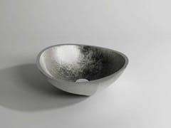 - Countertop round Stonelight washbasin GAP - Flora Style