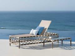 Lettino da giardino reclinabile in Batyline®OLYMPIA | Lettino da giardino - INDIAN OCEAN