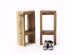 - High spruce stool with footrest GATSBY | High stool - Vontree
