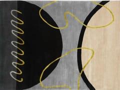 - Handmade rectangular rug GEO SPRING II - Deirdre Dyson