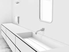 - Lavabo rettangolare in Corian® GEOMETRIC SGP | Lavabo da incasso sottopiano - AMA Design