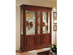 - Solid wood display cabinet GIOTTO | Solid wood display cabinet - Arvestyle
