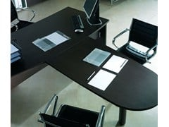- Multiple melamine-faced chipboard office workstation GIOVE G20LWAP - Arcadia Componibili - Gruppo Penta