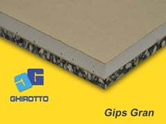 - Sound insulation panel GIPS GRAN - GHIROTTO TECNO INSULATION