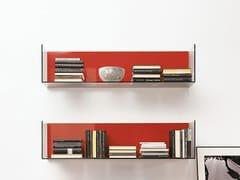 - Open tempered glass wall cabinet GLASSBOX - EmmeBi