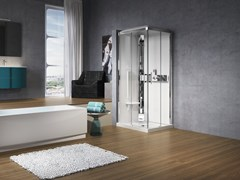 Box doccia rettangolare con idromassaggioGLAX A 70X90 - NOVELLINI