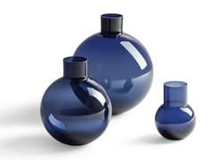 Vaso in vetroGLI OGGETTI - BLUE PALLO - POLTRONA FRAU