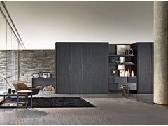 - Sectional wardrobe with coplanar doors GLISS QUICK SLIDING - MOLTENI & C.