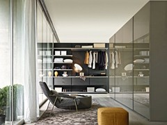 - Sectional custom walk-in wardrobe GLISS QUICK | Walk-in wardrobe - MOLTENI & C.